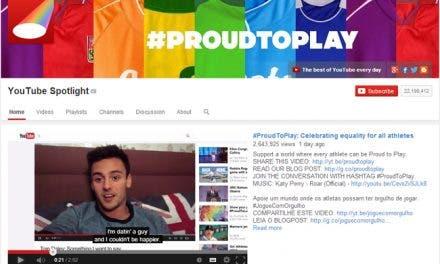 YouTube celebra la igualdad entre los atletas con la campaña #ProudToPlay