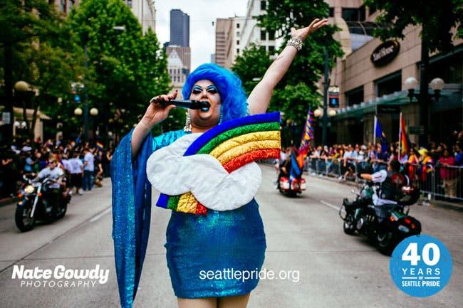 Mama Tits Gay Pride