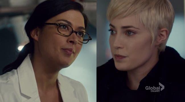 Gail y Holly resumen de episodio 5×07 Rookie Blue