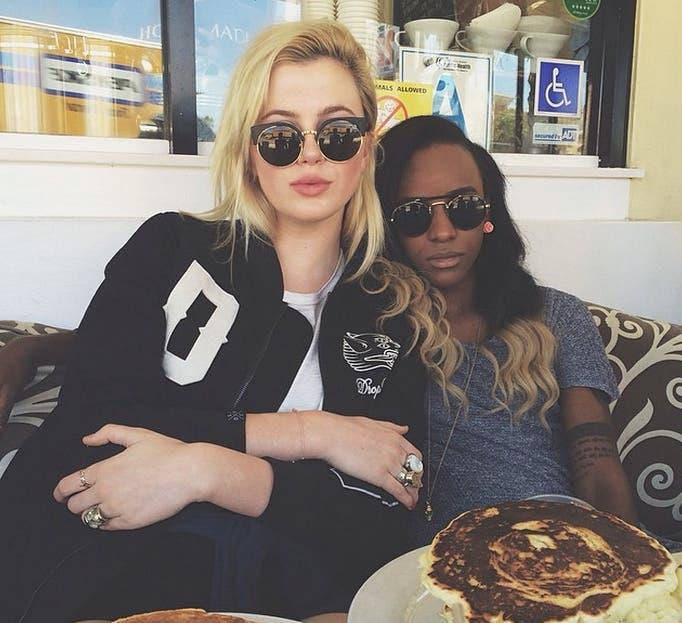Ireland Baldwin y Angel Haze: la nueva pareja lésbica de moda