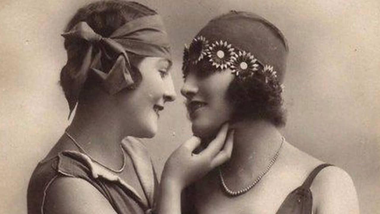 20 fotografías vintage de lesbianas