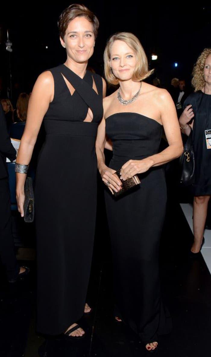 Alexandra Hedison y Jodie Foster