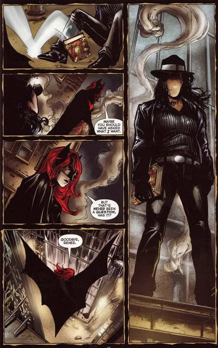 Batwoman y The Question