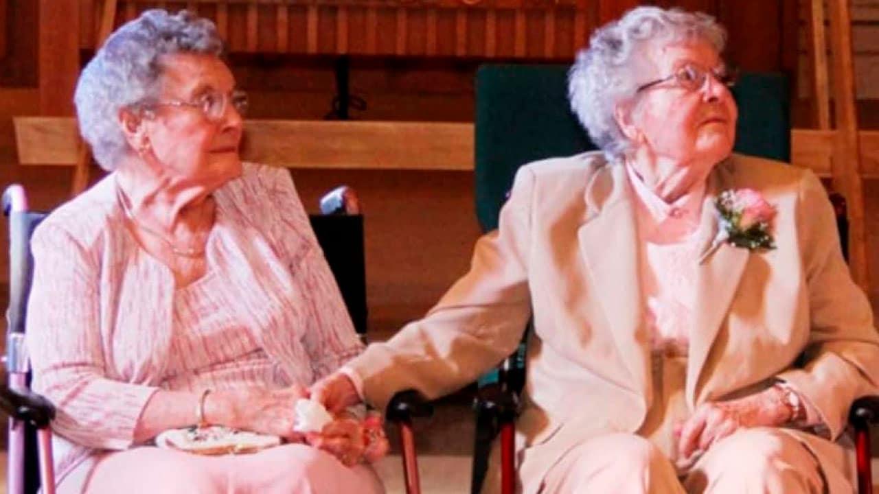 Esta pareja de lesbianas sabe lo que es el amor eterno