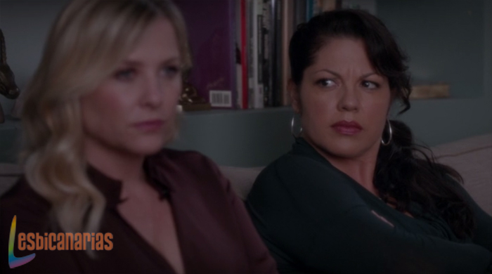 Callie y Arizona en terapia
