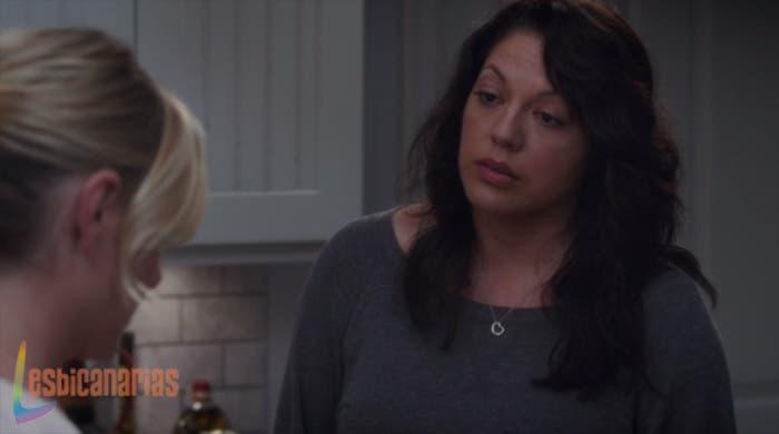 Callie y Arizona primer día de separación