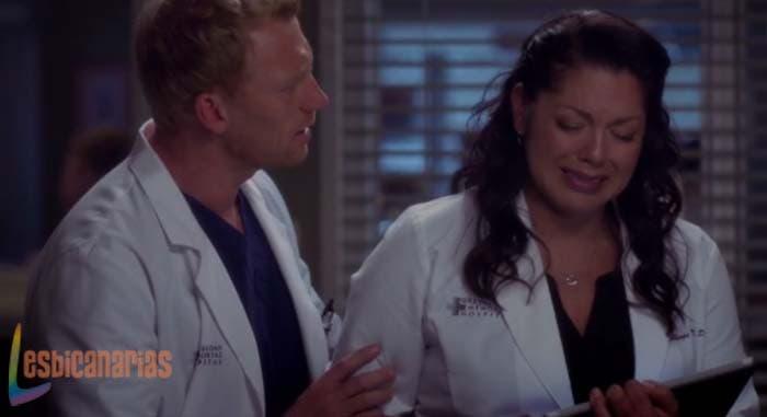 Callie y Owen Anatomía de Grey