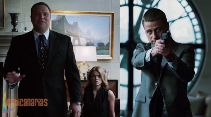 Barbara y Jim en Gotham
