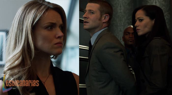 Barbara y Renee en Gotham