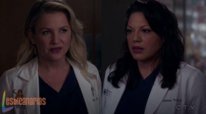 Callie y Arizona: resumen de episodio 11×13 Anatomía de Grey