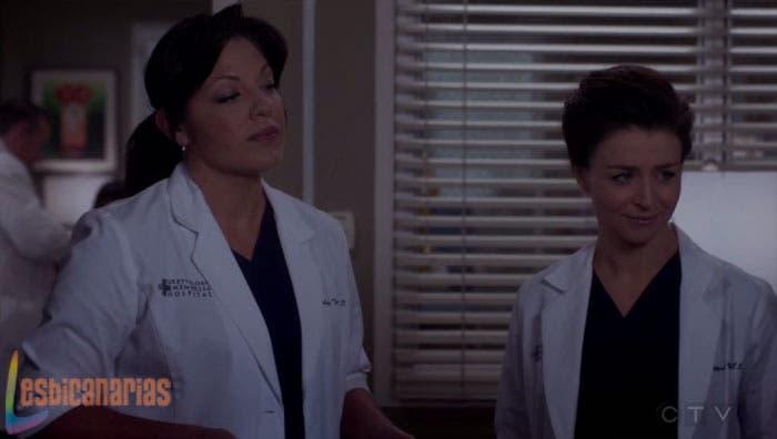 callie y Amelia en anatomía de grey