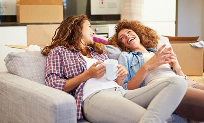 Chicas-riéndose