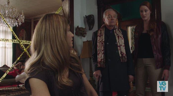 Danny y Laura preocupadas