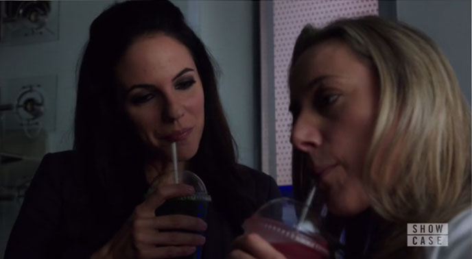 Bo y Lauren en Lost Girl