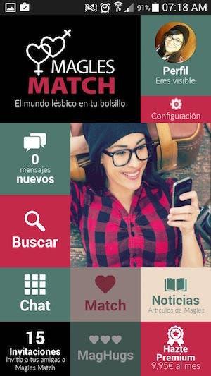 Match lésbico