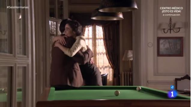 celia y bernardo abrazo