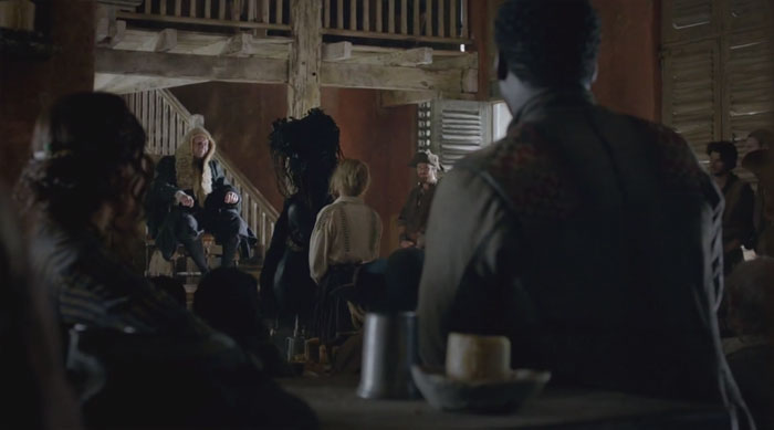 Juicio de Eleanor en Black Sails