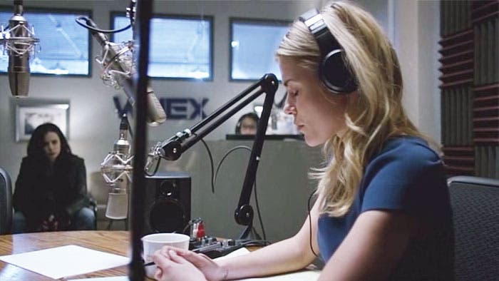 Trish y Jessica en el estudio