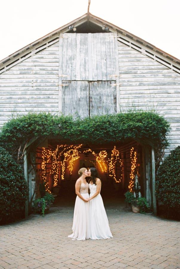 Amanda y Alexandra boda lésbica