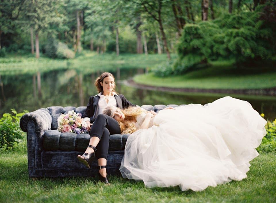 Fotografía por: Erich Mcvey Vía: Style Me Pretty