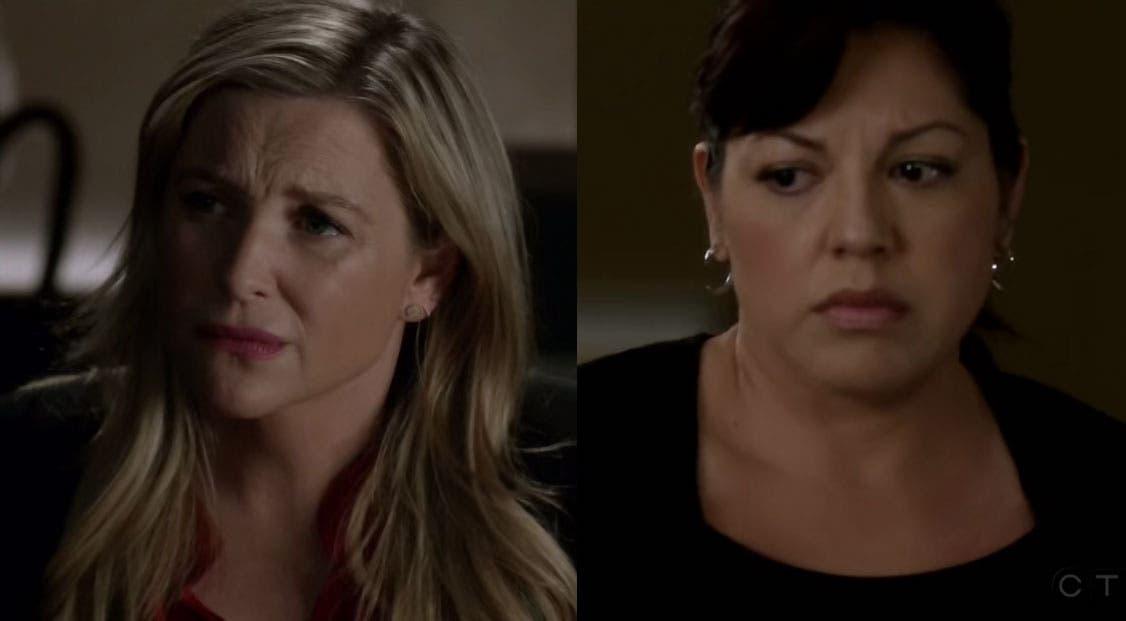 Callie y Arizona: resumen de episodio 12×22 Anatomía de Grey ...