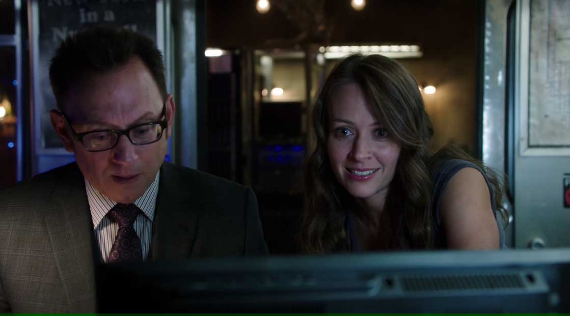 Root y Finch felices
