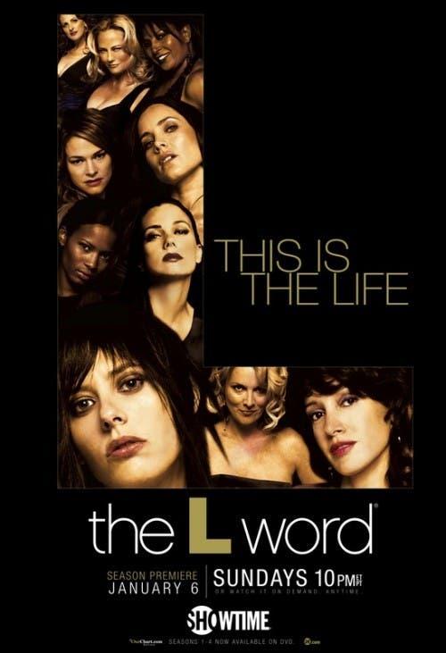 Cartel promocional de la quinta temporada de L Word