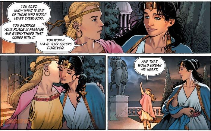 La Mujer Maravilla es bisexual según el nuevo cómic
