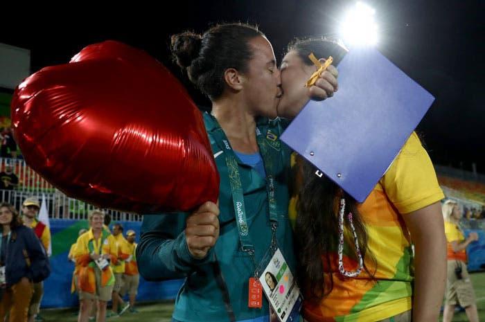 juegos olímpicos pareja lesbica