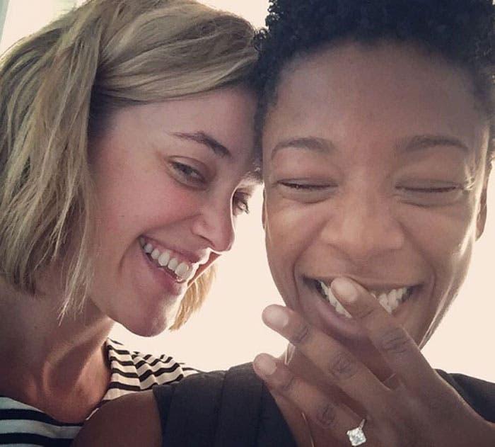 Samira Wiley se nos casa con su novia Lauren Morelli