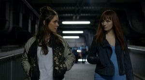 Niska y Astrid la pareja lésbica de Humans