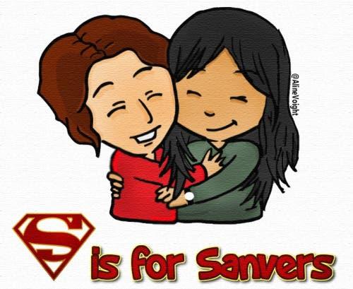 """""""S"""" es por Sanvers (Vía alinevoight.tumblr.com)"""