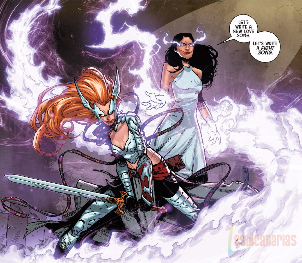 Angela Queen of Hel panel
