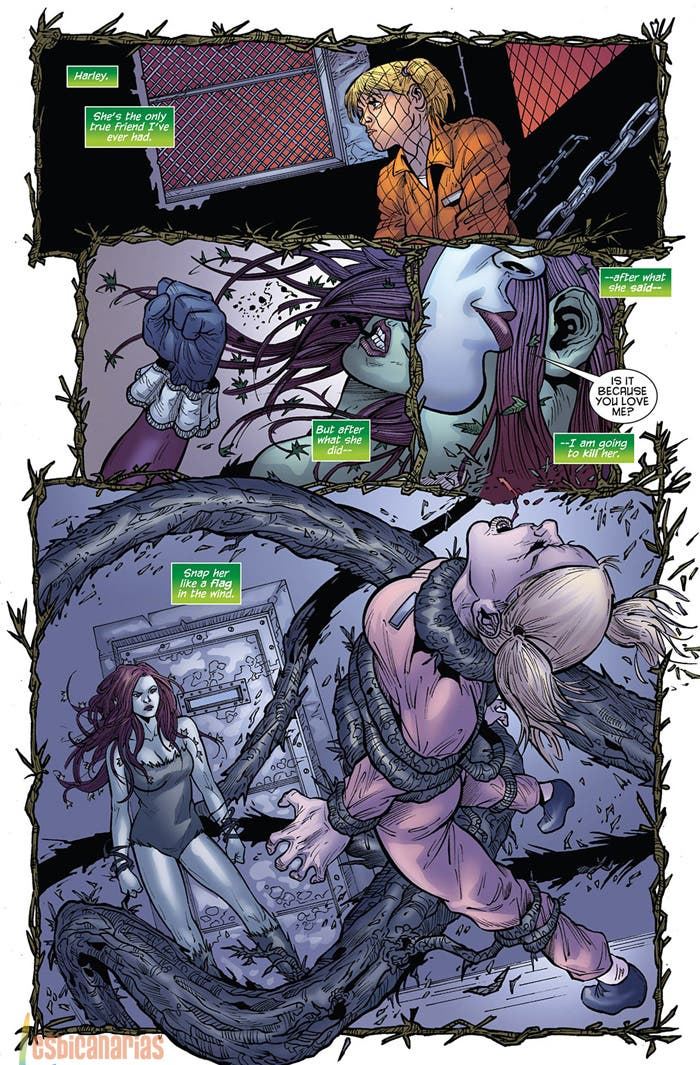 Poison Ivy vs Harley Quinn