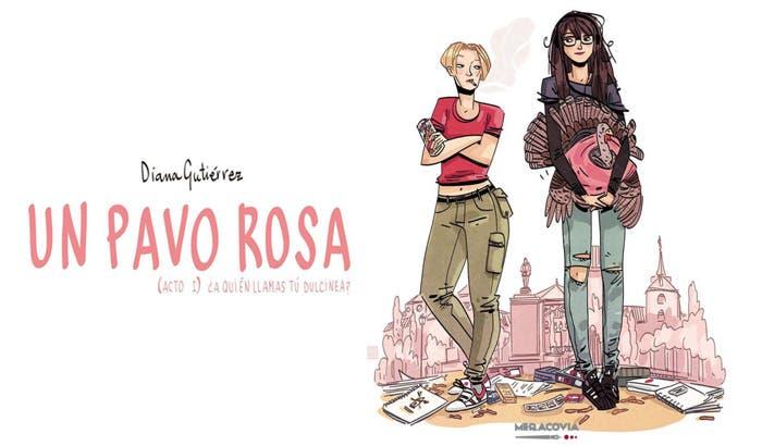 Un Pavo Rosa libro lésbico