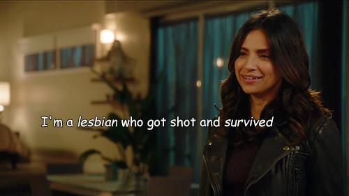 """Soy una lesbiana a la que le dispararon y sobrevivió"" (Vía sanjunipero1987.tumblr.com)"