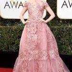 Lily Collins Globos de Oro 2017