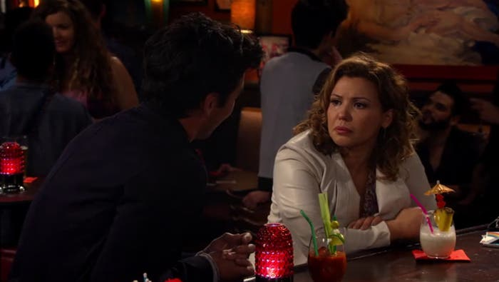Penelope en el bar