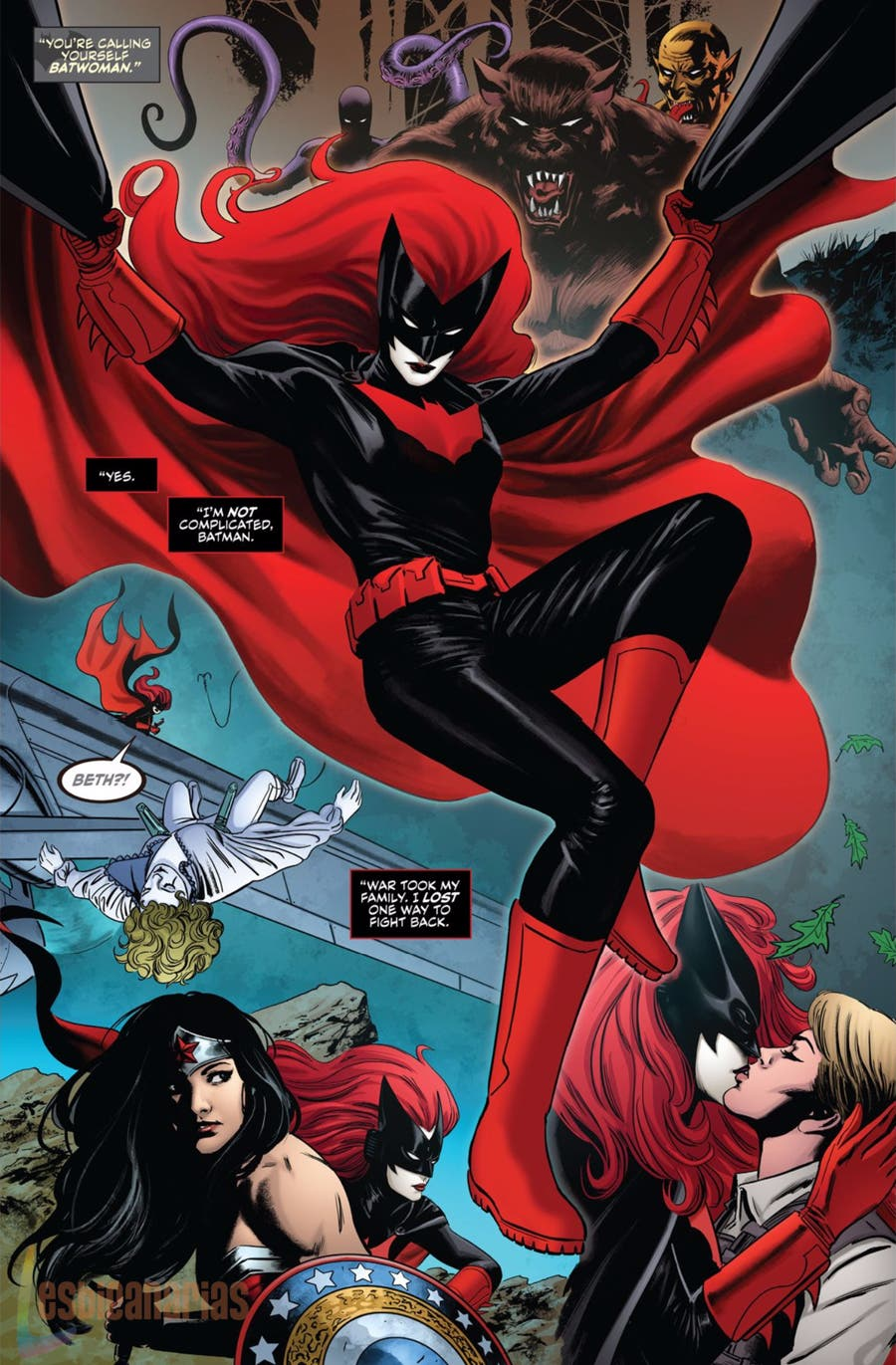 Batwoman Rebirth 1 repaso historia
