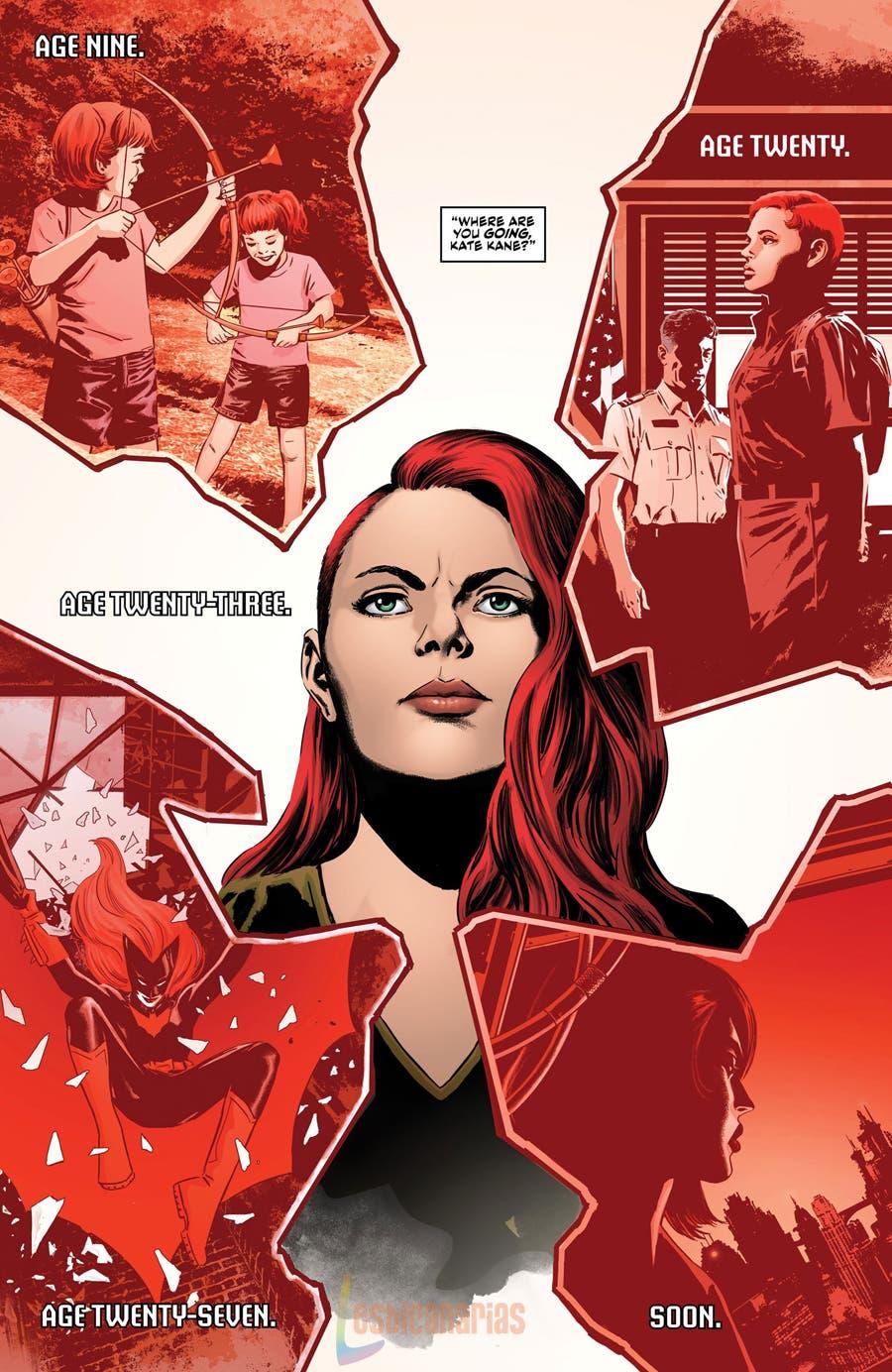 Batwoman Rebirth Historia de Kate Kane