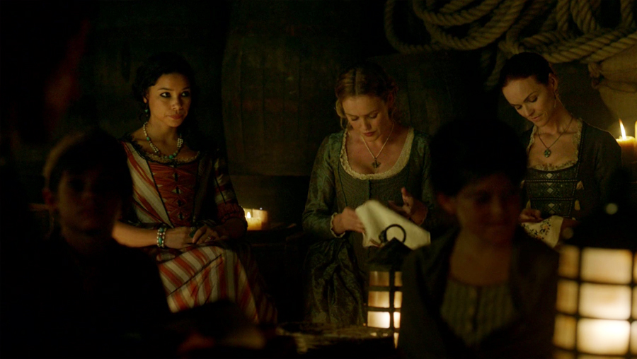 Black Sails resumen de episodio 4×01 Max y Eleanor