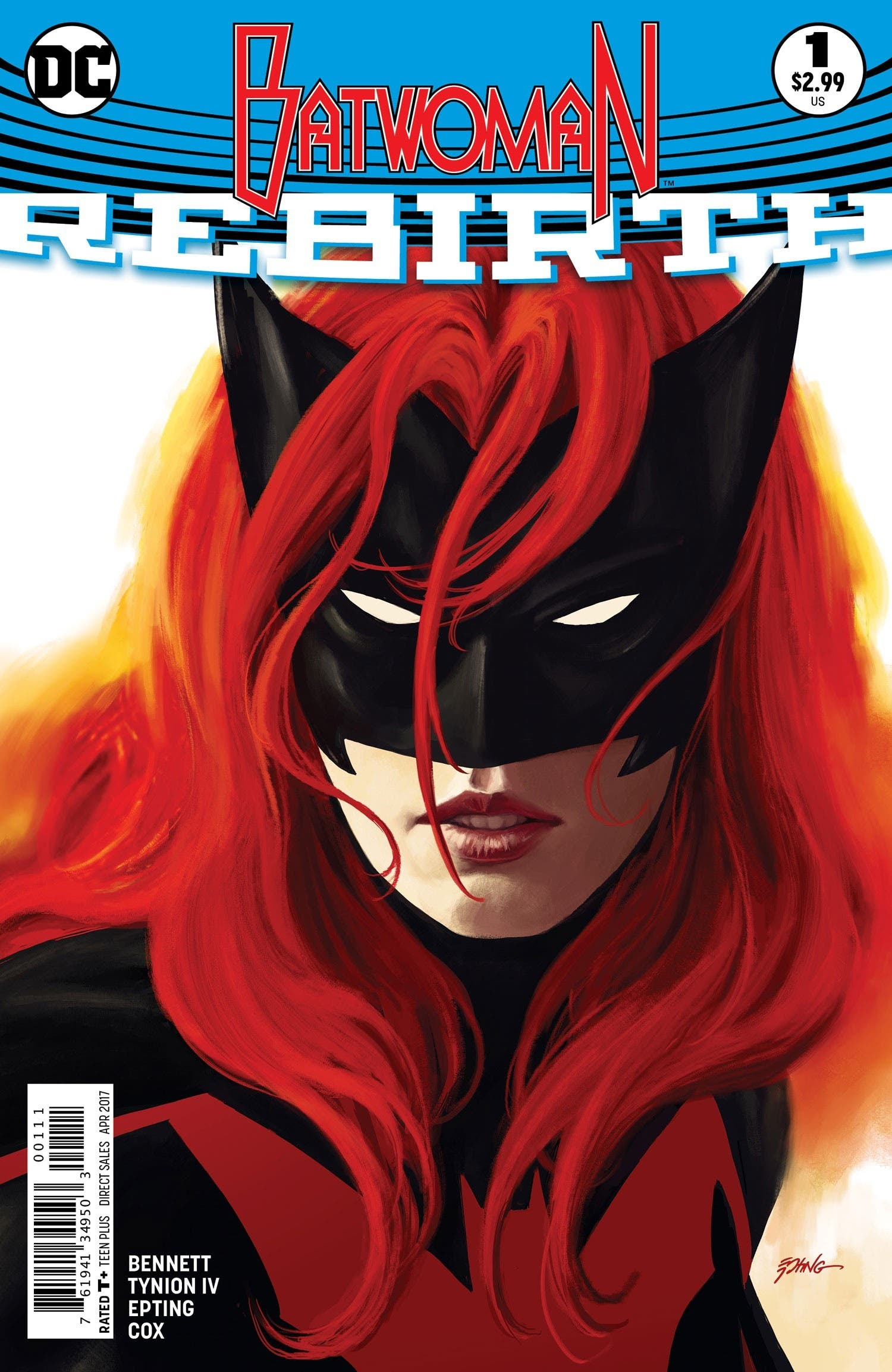Portada Batwoman Rebirth 1