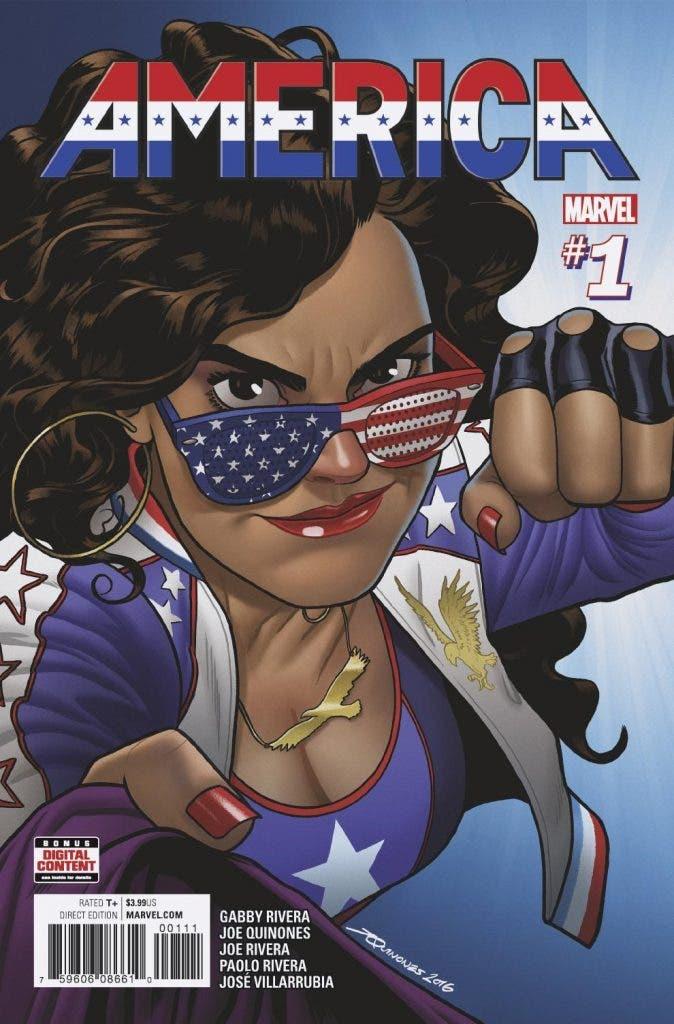 America 1 cómics lésbicos