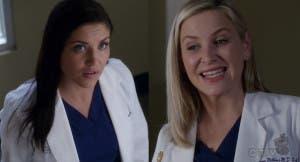 Arizona y Eliza resumen de episodios 13×15 Anatomía de Grey