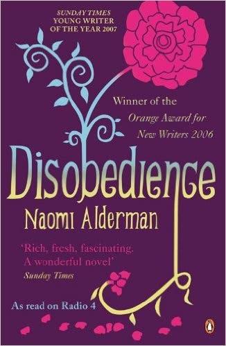 Disobedience libro lésbico Naomi ALderman