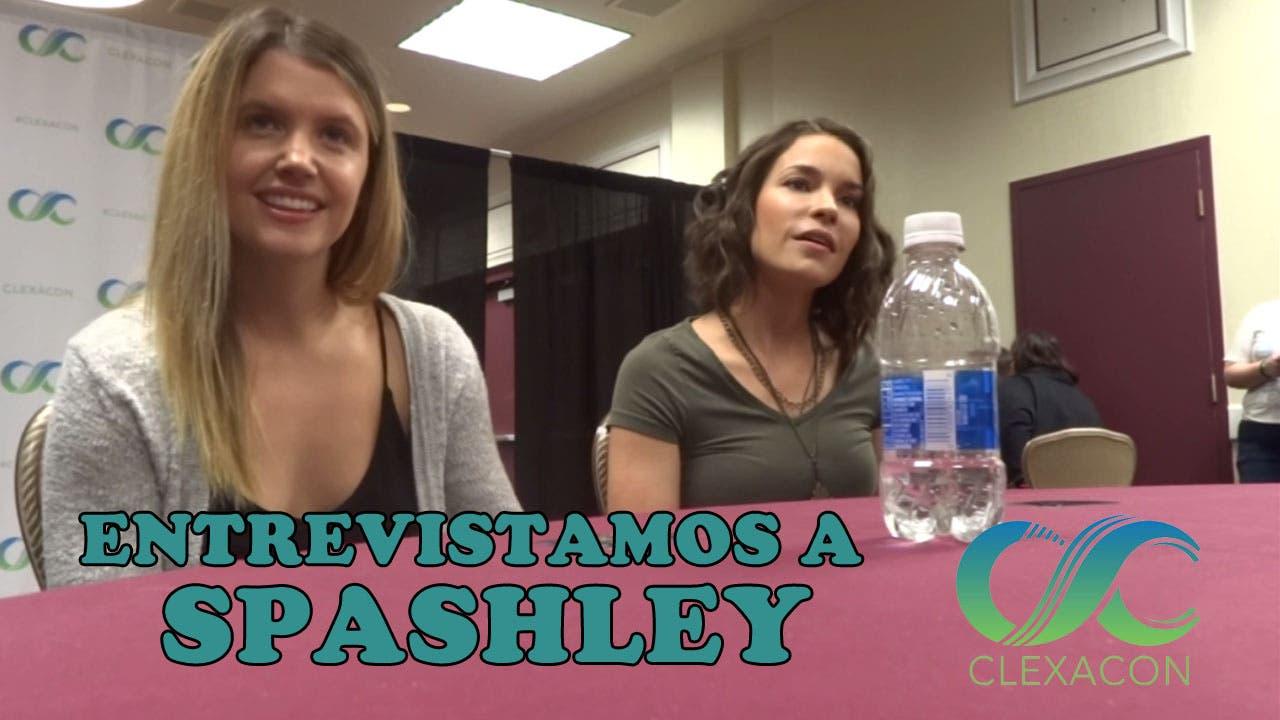 Entrevistamos a Spashley en la ClexaCon