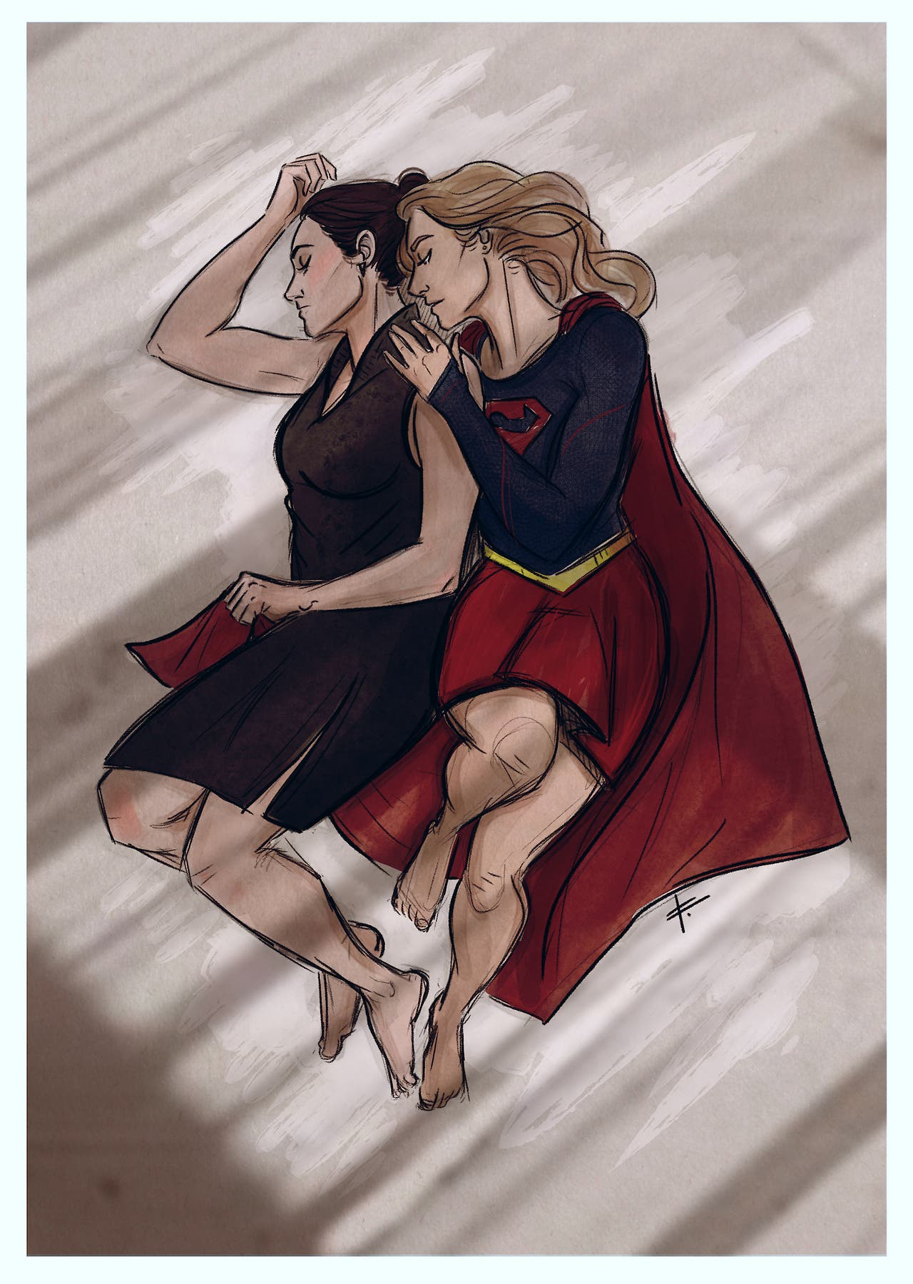 Fanart de Supercorp