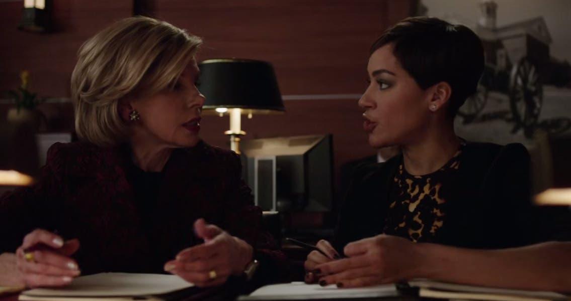 Maia y Lucca debatiendo