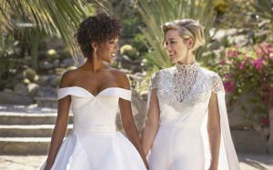 ¡Samira Wiley y Lauren Morelli se nos han casado!