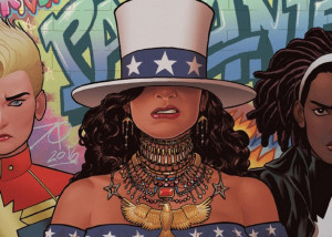 America 2: The Girls Wanna Be Her – cómics lésbicos